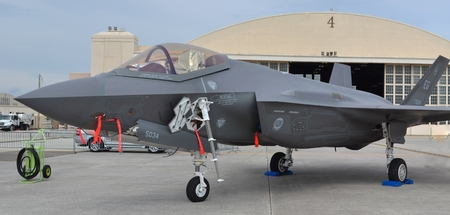 US Air Force F-35 Joint Strike Fighter