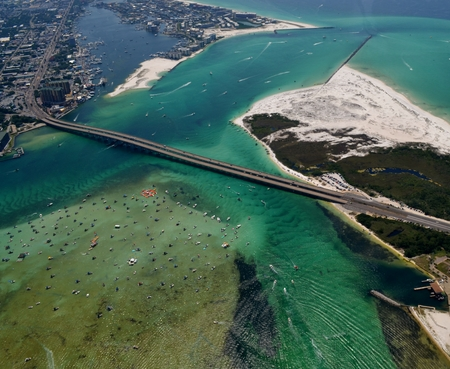 destin: Crab Island in Destin, Florida