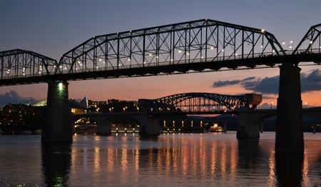 tennesse: Puente Walnut Street en Chattanooga, Tennessee