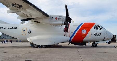 Coast Guard HC-144 Ocean Sentry Plane
