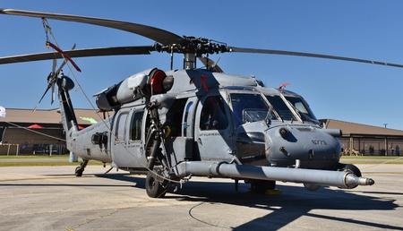 A U.S. Air Force HH-60G Pave Hawk