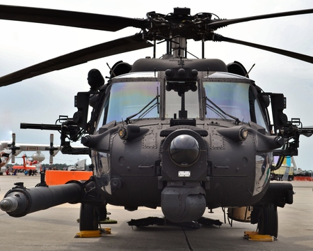 Special Forces MH-60 Blackhawk Helicopter