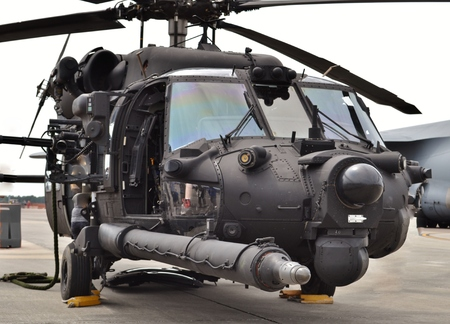 Special Forces MH-60 Blackhawk Helicopter Stock fotó - 90482787