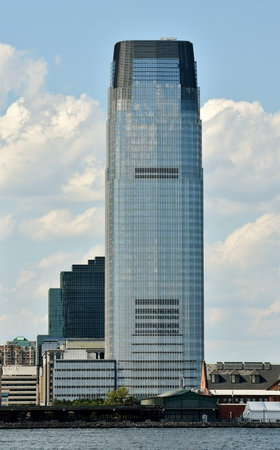 The Goldman Sachs Tower in Jersey City.