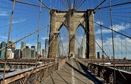 ニューヨーク市のブルックリン橋