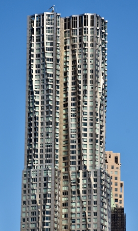 Frank Gehry Tower in Manhattan