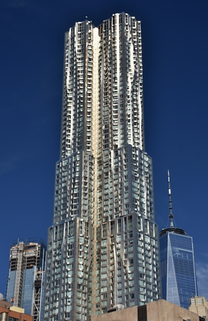 Beekman Tower (Frank Gehry) in New York City