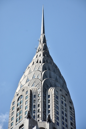The spire of the iconic Chrysler Building skyscraper Editorial