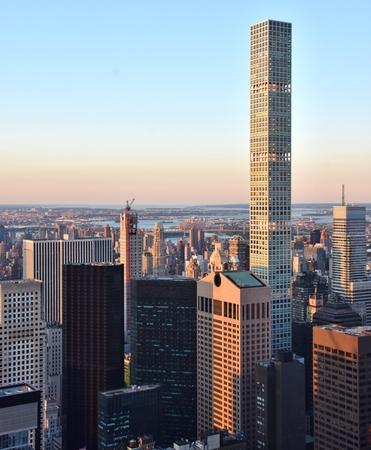 432 パーク アベニュー 超高層ビル 写真素材