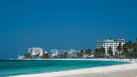 colombia: San andres island Stock Photo