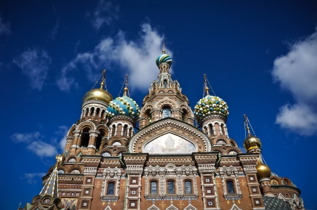 Church of the Savior on Spilled Blood, Saint Petersburg, Russia photo