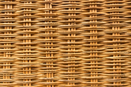Brown wicker texture background made from basket