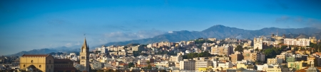 Beautiful view of Messina old city, Sicily, Italy Stock Photo - 16271477