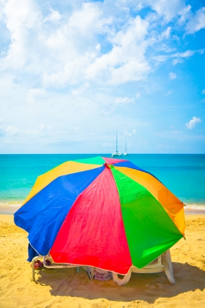 Beautiful beach in Saint Lucia, Caribbean Islands Stock Photo - 16928265