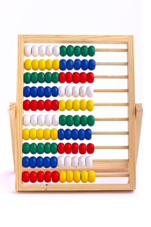 Abacus toy for child isolated on white background Stock Photo - 17757261