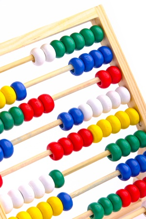 Abacus toy for child isolated on white background Stock Photo - 17757264
