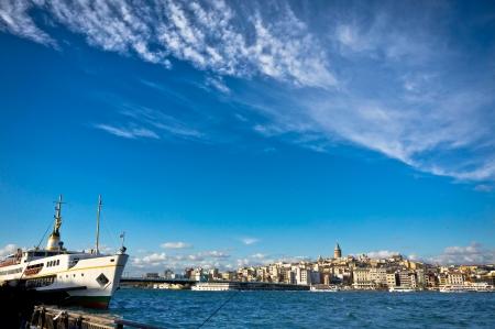 Mooi uitzicht op Istanbul City, Turkije