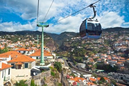 Beautiful view of Funchal, Madeira Island, Portugal Stock Photo