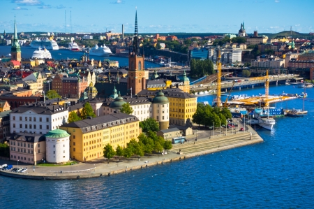 A view of Stockholm old city, Sweden photo