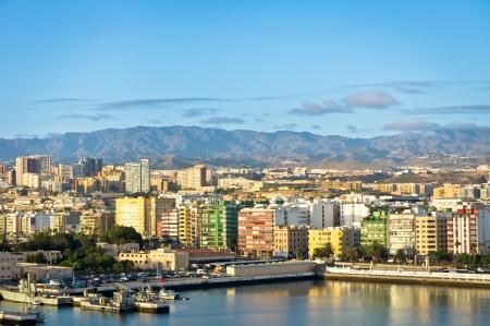 Beautiful view of Las Palmas city, Gran Canaria, Spain Stock Photo