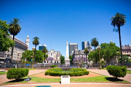 아르헨티나의 부에노스 아이레스 자본의 아름 다운보기