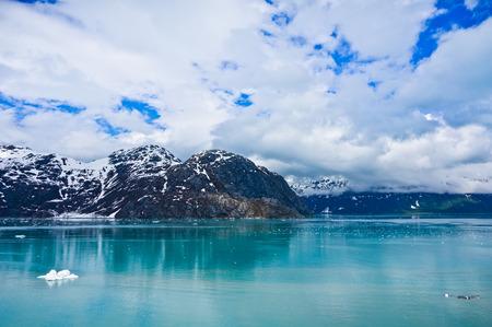 Glacier Bay in Mountains in Alaska, United States photo