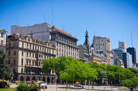 evita: Beuatiful view of Buenos Aires capital of Argentina