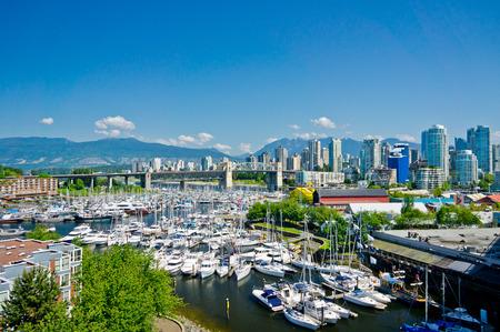 밴쿠버, 브리티시 컬럼비아, 캐나다의 아름다운 경치 스톡 콘텐츠