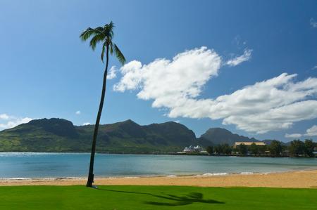 kauai: Beautiful view of Nawiliwili, Kauai Island, Hawaii, USA