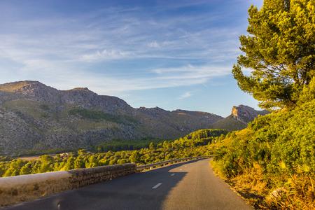 sierras: Beautiful view of Cap de Formentor, Mallorca, Spain Stock Photo