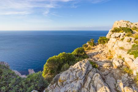 Beautiful view of Cap de Formentor, Mallorca, Spain Stock Photo