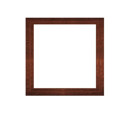 stock photograph: wooden picture frame - high resolution frame Stock Photo
