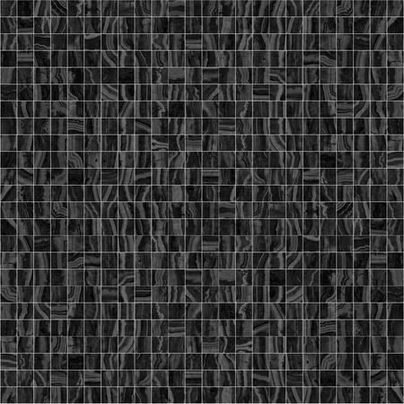 Black mosaic texture photo