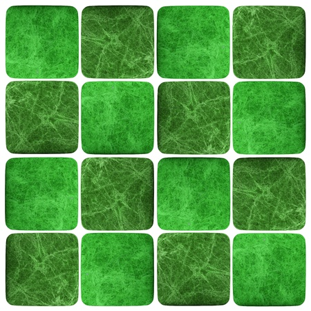 Green mosaic texture background. (High res.)  photo