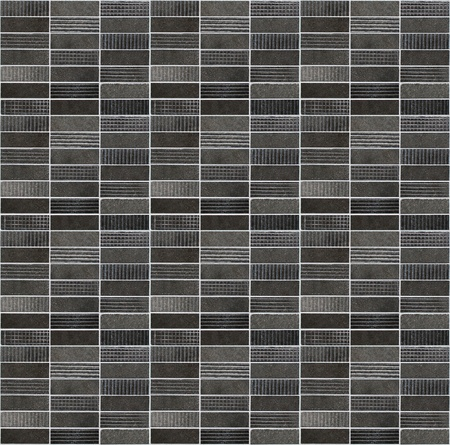 Black mosaic pattern background. Stock Photo - 9193695