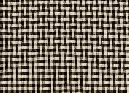Black-white plaid pattern fabric texture.