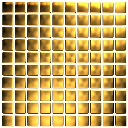 Golden mosaic  photo