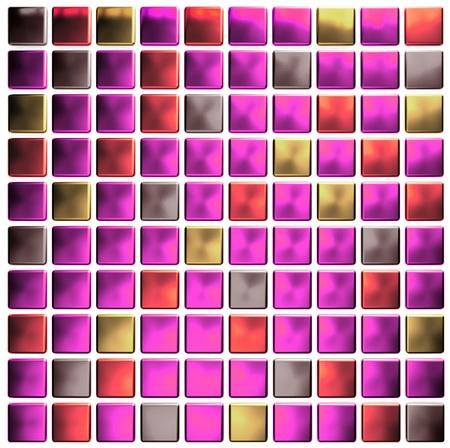pink colored mosaic  photo