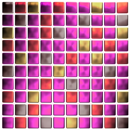 pink colored mosaic  photo