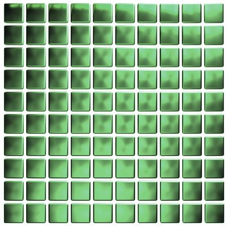 green mosaic  photo
