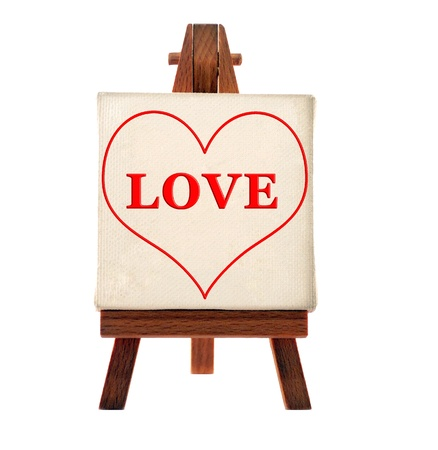 love in the heart Stock Photo - 9269655