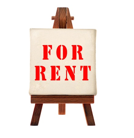 Rent board Stock Photo - 9269640