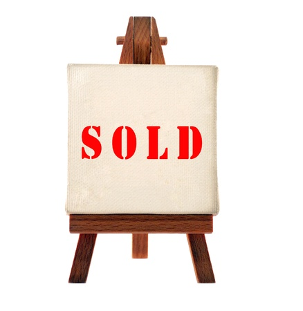 sold board  Stock Photo - 9269641