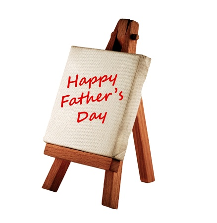 happy father's day message Stock Photo - 9295416