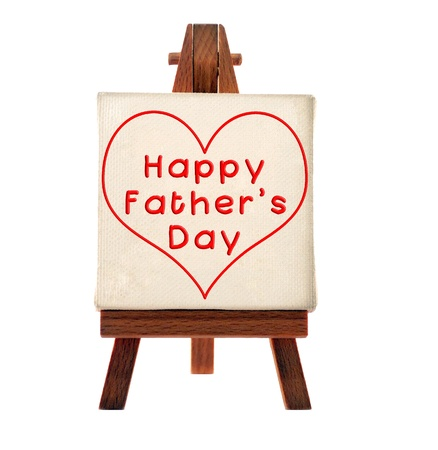 happy fathers day message Stock Photo