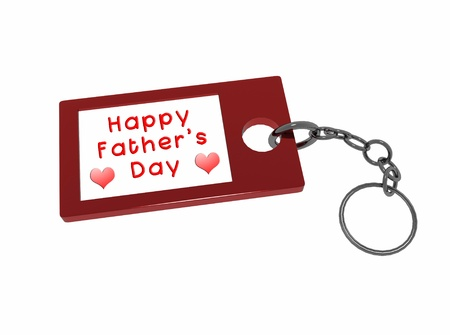 happy father's day message Stock Photo - 9316732