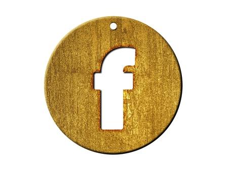 One letter of golden alphabet Stock Photo - 9316460