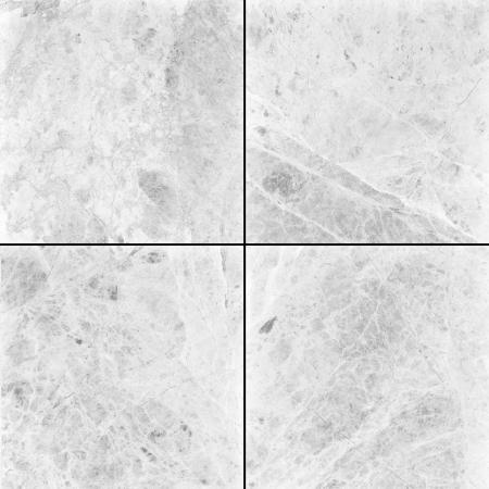 piso piedra: Cuatro diferentes blancos resoluci�n de textura de m�rmol de alta