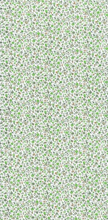 res: Green floral background   high res scan