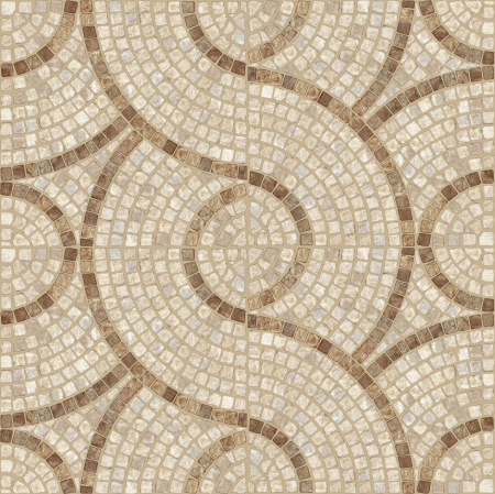 mosaic floor: Brown marble-stone mosaic texture   High res   Stock Photo
